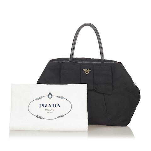Fiocco Bow Tessuto Handbag