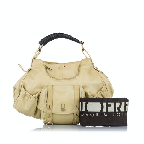 Mombasa Leather Shoulder Bag