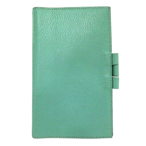 Blue Leather Agenda cover