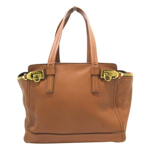 Brown leather Shoulder bag