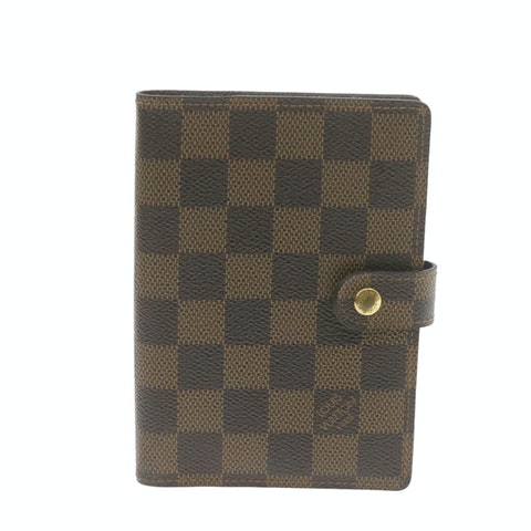 Brown Canvas Agenda Cover