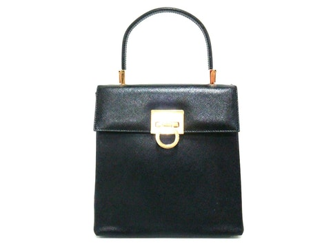 Black Leather Gancio