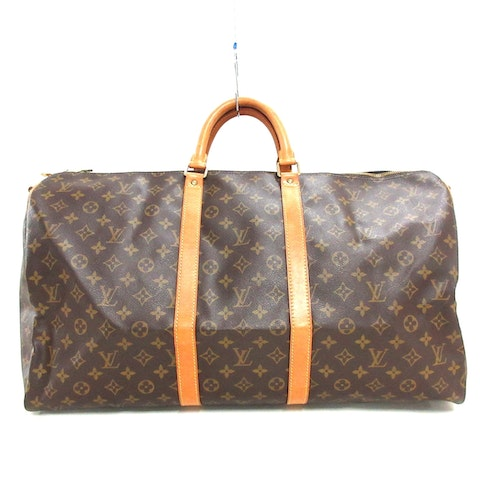 Brown Canvas Keepall