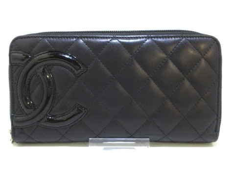Black Leather Cambon