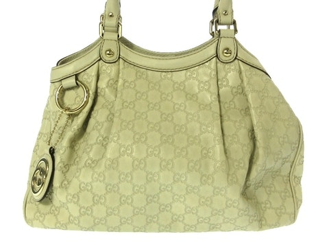 Green Leather Sukey