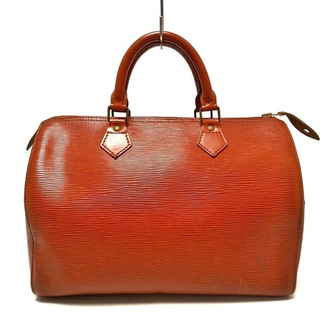 Brown Leather Speedy