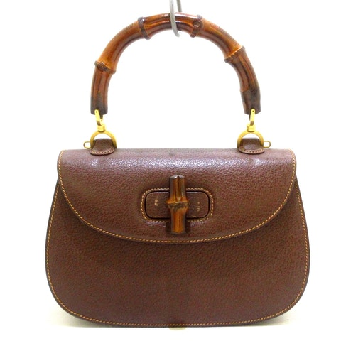 Brown Leather Bamboo