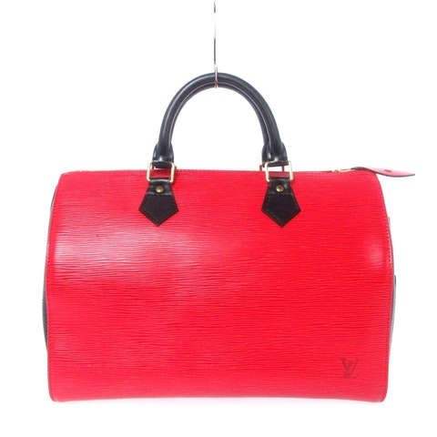 Red Leather Speedy