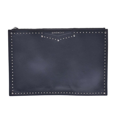 Black Leather Clutches