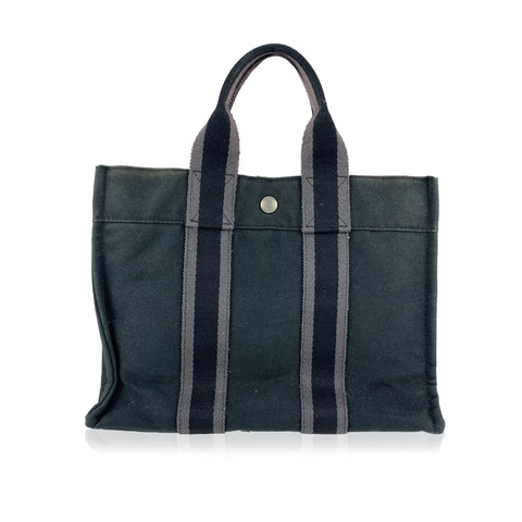 Vintage Black Tote Bag