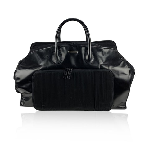 Black Canvas Travel Bag