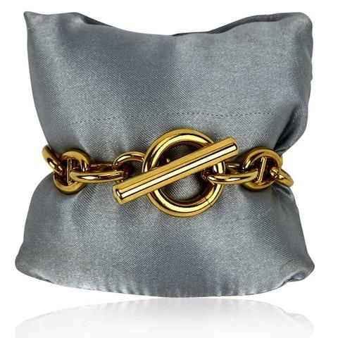 Vintage Gold Metal Bracelet