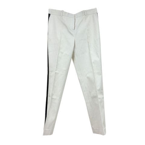 White Side Stripe Tailored Trousers Size 40 IT