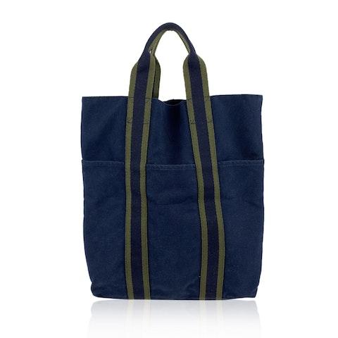 Vintage Blue Tote Bag