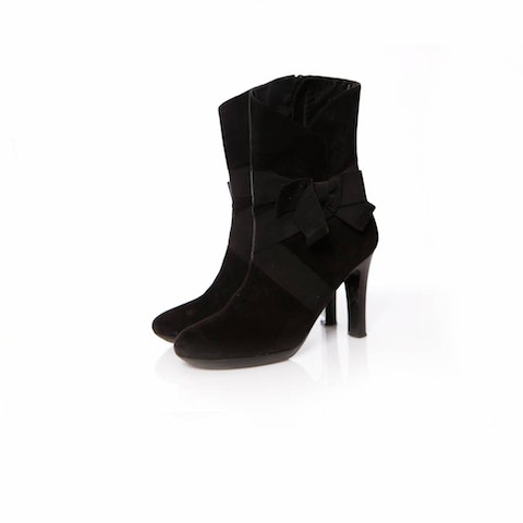 Black Suede Boots size 37