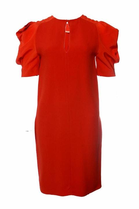 Orange Silk Dress size 38FR/S
