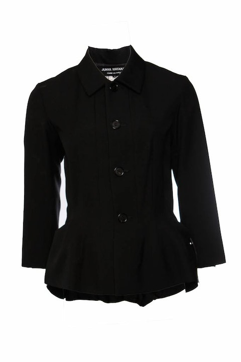 Junya Watanabe/Comme des garçons, black blazer in size M that can be turned into a bag.