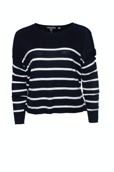 Vince, Blue and white striped sweater