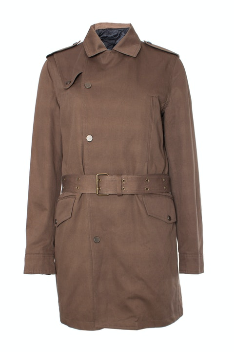 The Kooples, Khaki colored trench coat.