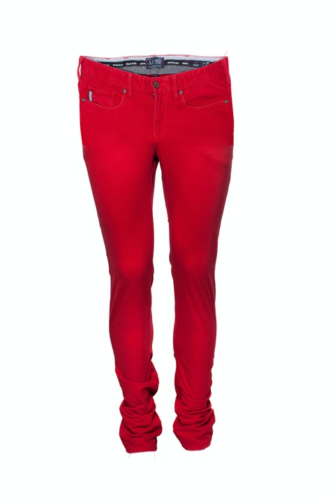 Armani Jeans, Red jeans in size W29/S.