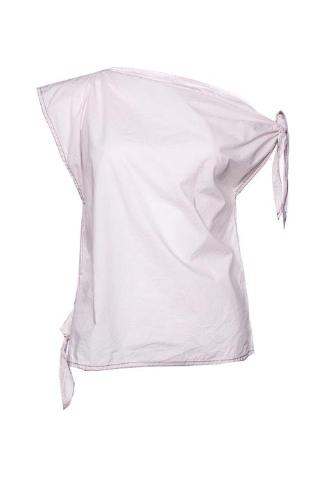 Maison Margiela, pink cotton top.