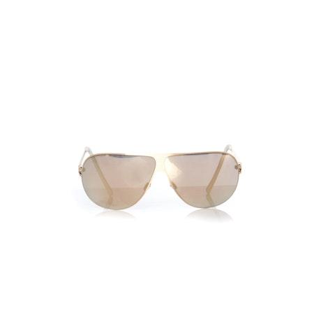 MYKITA, mirrored sunglasses coated in 24-karat gold.