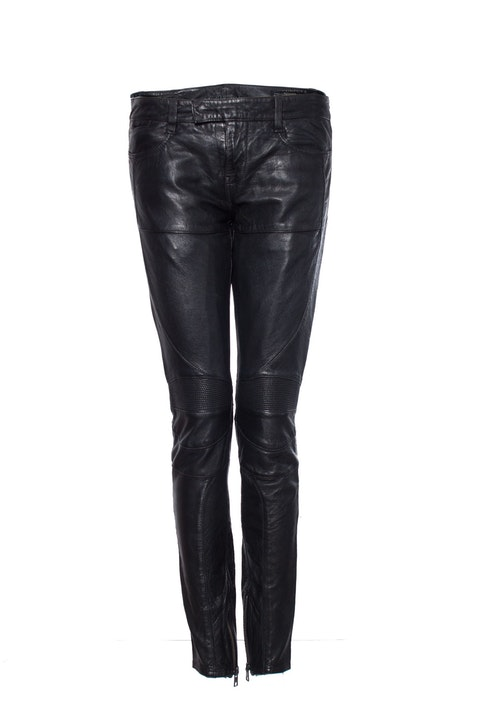 All Saints, Black leather biker trousers