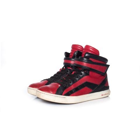 Pierre Balmain, High top sneaker