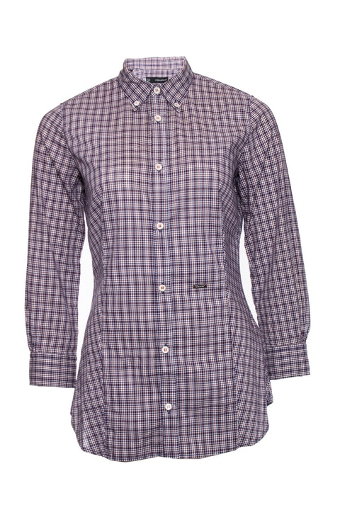 Dsquared2, checkered shirt.