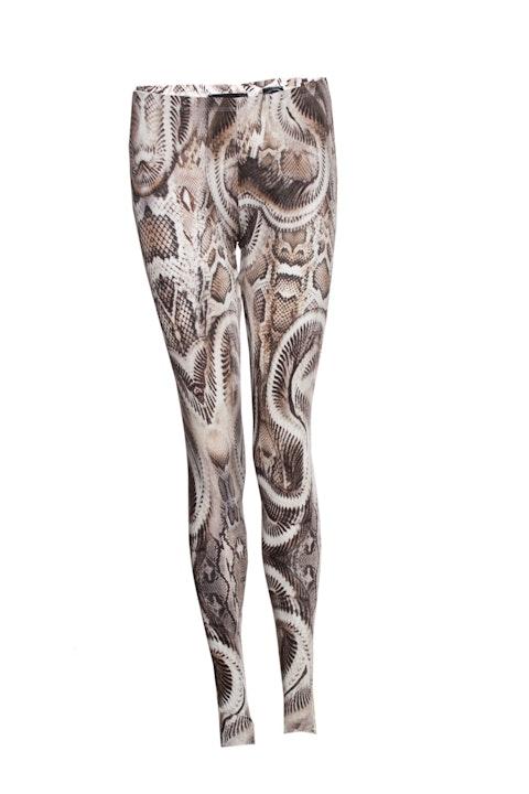 Philipp Plein, Legging with snake print.