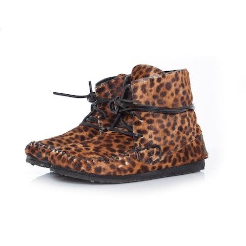 Isabel Marant etoile, Flavie leopard print booties.