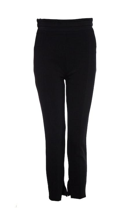 Elisabetta Franchi, Black high waist pantalon.