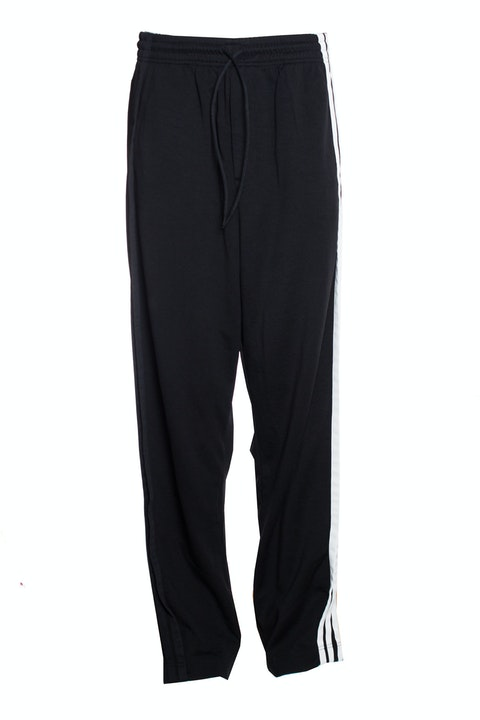 Y3, striped track pants.