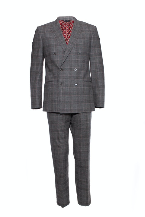 Paul Smith, checkered wool suit