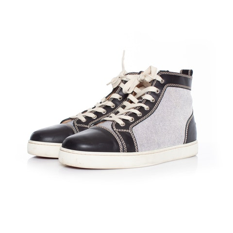 Multicolor Leather Rantus High-Top Sneakers SIZE: 43