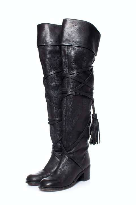 See By Chloe, over the knee boots.