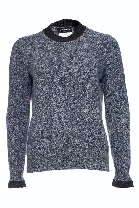 Cashmere sweater with crewneck