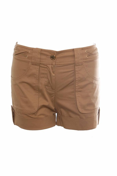 Tory Burch, Kakhi colored shorts in size M.