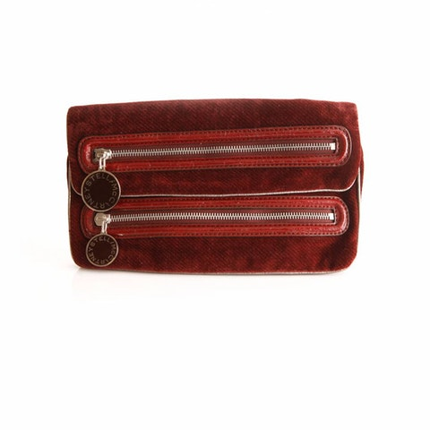Brown Fabric Wallet