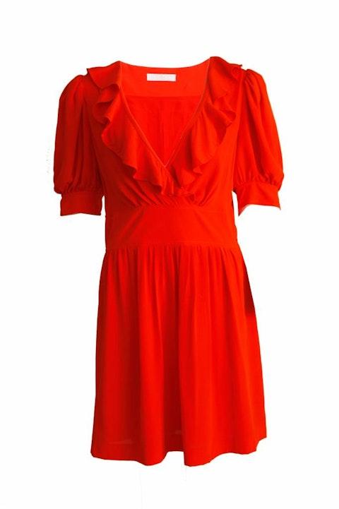 Orange dress size FR40/S