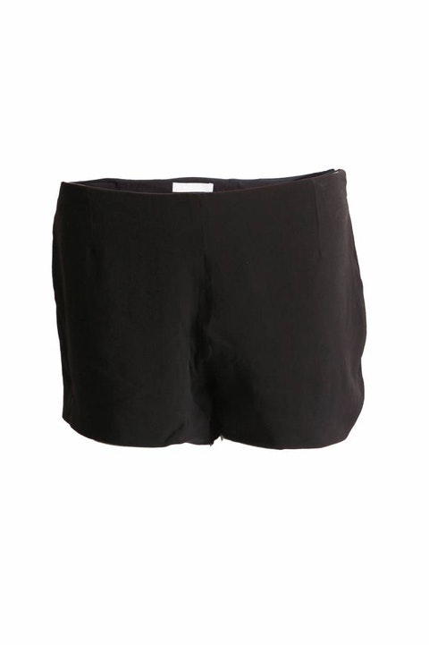 Black Silk Shorts Size 42IT/S