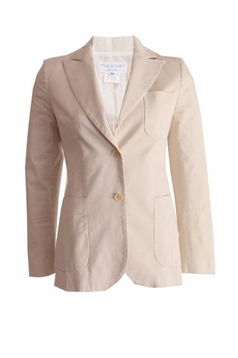 PAUL & JOE, beige/sand colored blazer in size 38FR/S.