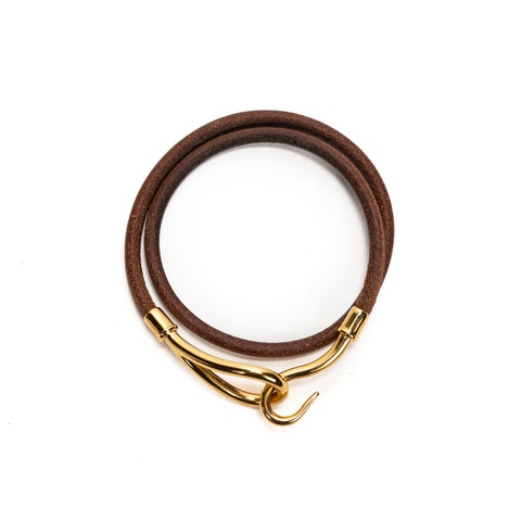 Jumbo Double Tour  in Brown Stainless Steel without Nickel