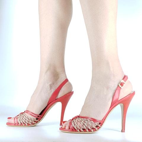 Ferragamo Cruise Collection - Coral Sandal