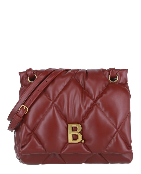 Touch Puffy Quilted Leather  Bag