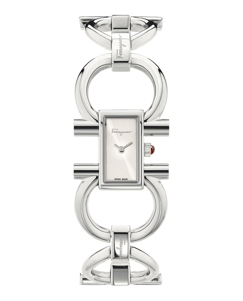 Double Gancini Bracelet Watch