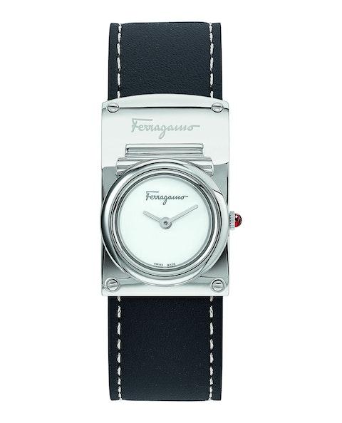 Ferragamo Boxyz Leather Watch