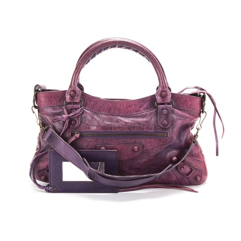 The First 2 Way Shoulder Bag 103208 in Purple