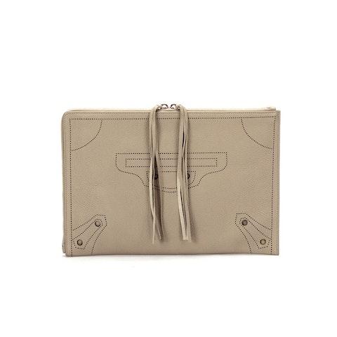 Clutch Bag Second Bag 443522 in Beige