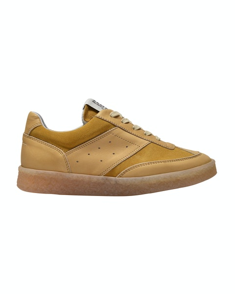 Sneakers in Brown Leather